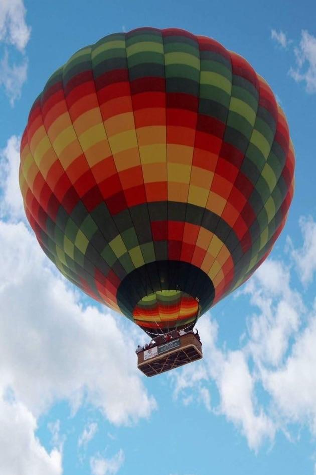 montgolfiere en arabe